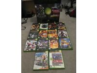 Xbox Console in Original Box, 1 Controller and 14 Games