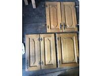 Free wooden kitchen units