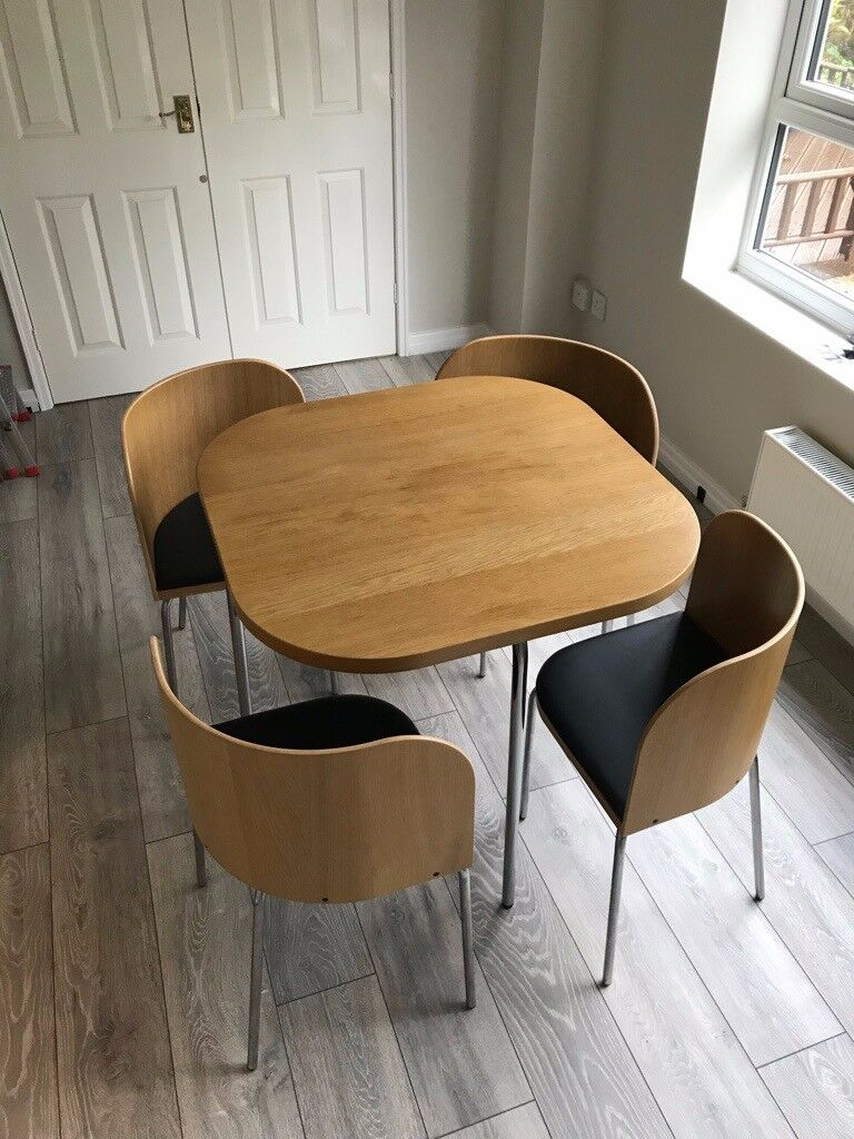 Ikea Fusion Dining Table And 4 Chairs In Kirkham Lancashire Gumtree