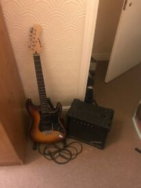 Westfield electric guitar and Amplifier