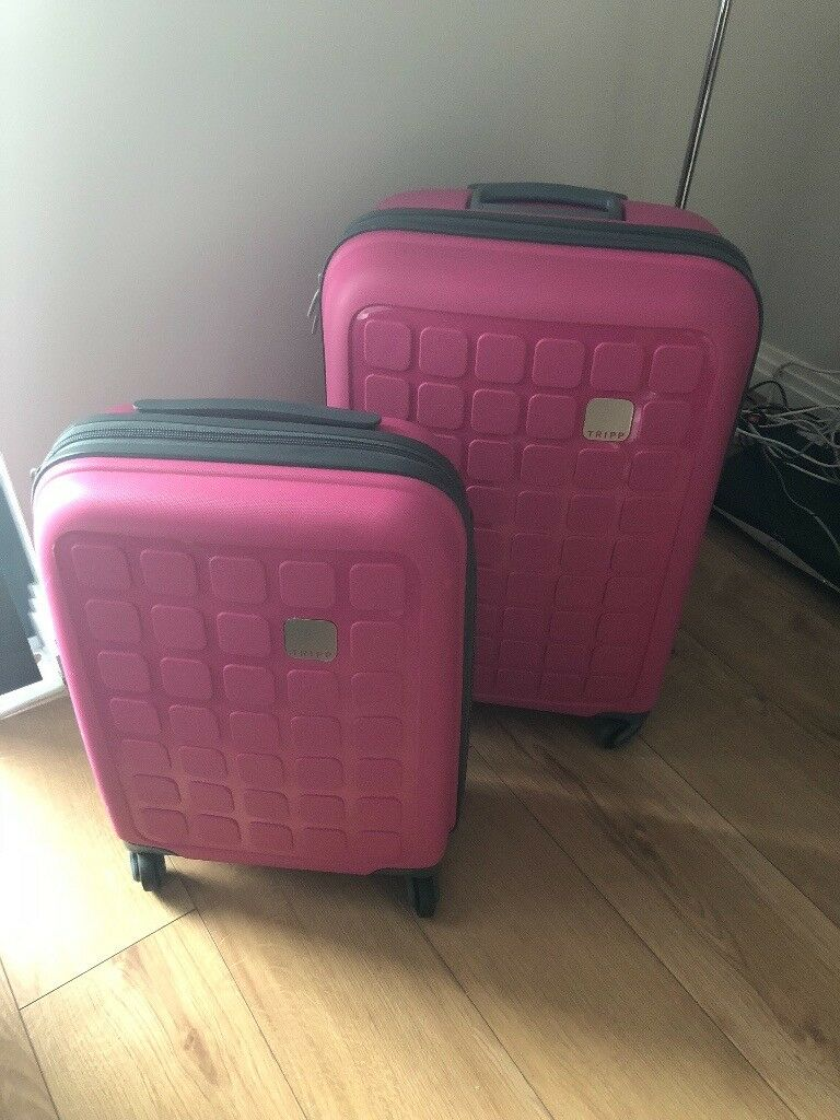 081086f0c Debenhams Tripp Medium and Cabin Cerise Pink Suitcases 4 wheels   in West  Drayton, London   Gumtree