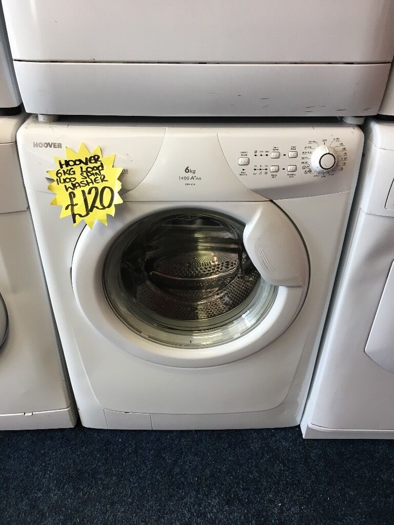 HOOVER 6KG BASIC WASHING MACHINE