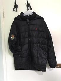 Ralph Lauren black padded jacket. Children's (L)