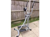 Cross trainer with digital display Can deliver