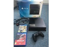 PS4 500gb & 2 games
