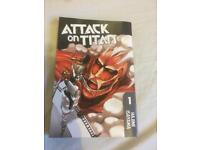 Attack on titan volume 1 (£3.50)