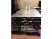 Dell R410 Server 2x Intel Xeon 2.66Ghz Hex Core CPU 32GB RAM