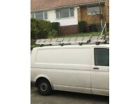 VW transporter roof rack