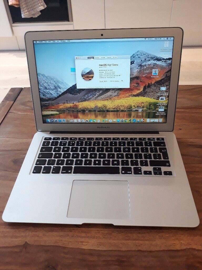 2017 Apple Macbook Air 13 Inch Laptop Intel Core I5 8gb Ram 256gb