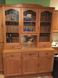 Real wood Kitchen cabinets & dresser - must go ASAP