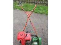 """Qualcast/Suffolk punch 14"""" petrol cylinder mower"""