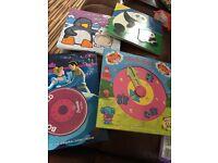 Children's books and jigsaws