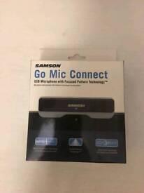 Samson plug in high quality microphone