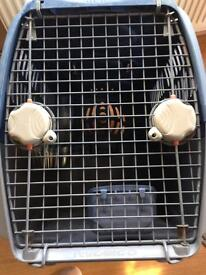 Large pet cargo crate