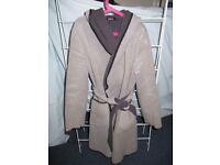 coats, jackets, £5 each, size 8