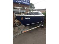 SAILFISH 18 SAILBOAT COMPLETE WITH OUTBOARD AND TRAILER