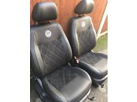 Vw caddy leather seats