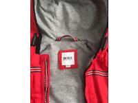 Hugo Boss boys red jacket 12months