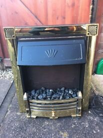 Electric Fire - Coal Effect with bottom light - Full working order just needs a clean