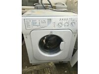 Indesit integrated washing machine