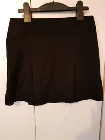 New look black school skirt age 12