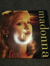 Madonna Fever 12 inch Single