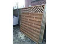 Bury Continental Fence Panels - NEW