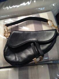 Christian Dior classic saddle bag