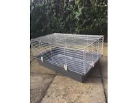 Small rabbit or guinea pig hutch/cage