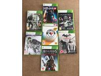 Xbox 360 Games (x 10)