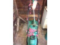 Qualcast Lawn Mower & Strimmer Set