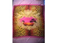 Versace for H&M Silk Scarf. Women's Silk Scarf. Limited Edition.