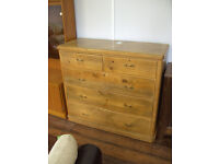 5 drawer chest of drawers ref 4/15