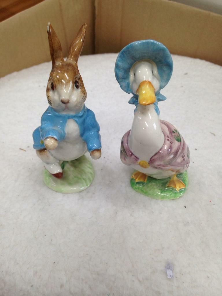 Beatrix potter genuine figures