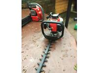 Kawasaki tg18 petrol hedge cutters trimmers just serviced and very clean and sharp