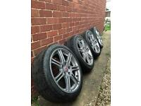 """Honda Civic type r 17"""" ep3 alloys and tyres"""