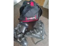Rossignol Ski Boots Size 42 ( 8.5 ) and storage bag