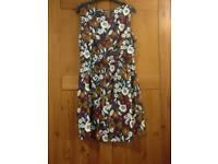 Floral Skater Dress, size 14