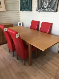 Solid John Lewis Extending Dining Table