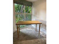 Ikea wood desk