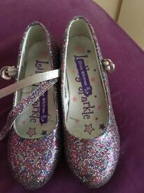 Girls shoes sparkle