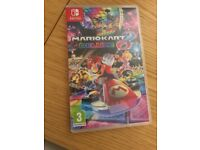Mario Kart 8 Deluxe Nintendo Switch Mint condition