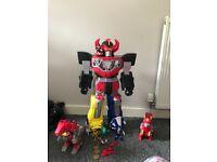 Power Rangers toy bundle