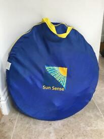 Sunsense SPF Pop up Family Beach Tent Large