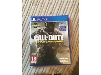 CALL OF DUTY - infinite warfare PS4 game.