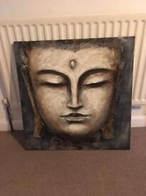 Large buddah canvas