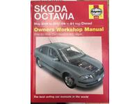Skoda Octavia workshop manual