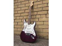 Liberty stratocaster, Cruiser by Crafter 12W amp, TGI guitar case