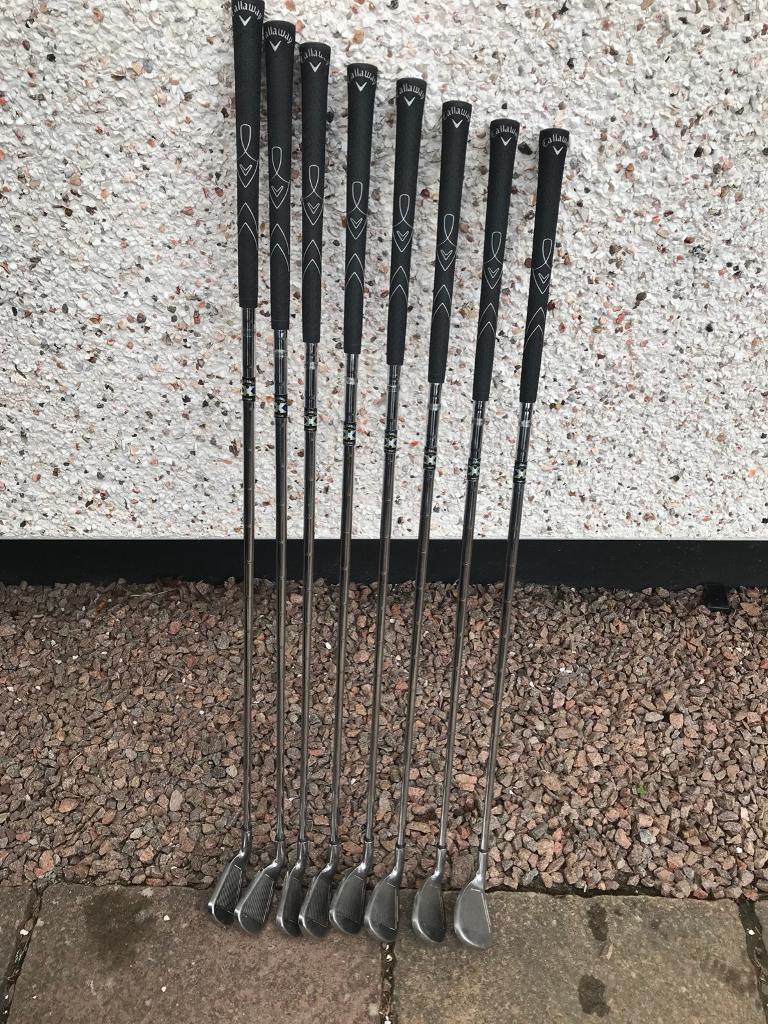 Callaway X 22 Irons In Ellon Aberdeenshire Gumtree