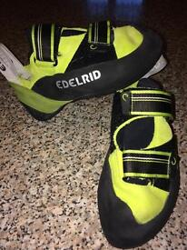 Climbing shoes size 5